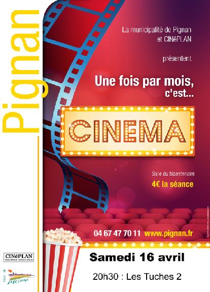 Programmation CINEMA de Mai